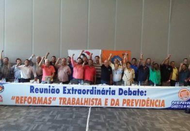 Sindicalistas aprovam Manifesto Público contra a Reforma da Previdência