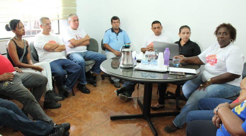 Diretoria do SINDVAS se reúne para discutir propostas de reformas trabalhista e previdenciária