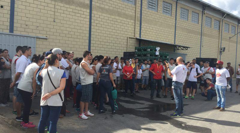 SINDVAS e trabalhadores contra as reformas previdenciária e trabalhista