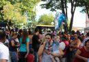 Milhares de pessoas comparecem ao Primeiro de Maio do SINDVAS
