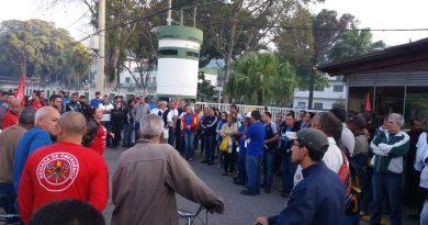 Dia Nacional de Lutas, Protestos e Greves: Ação conjunta na Imbel em Itajubá