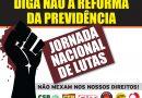 Protestos contra reforma da Previdência em diversas cidades