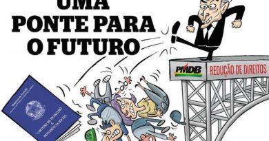 """""""O brasil voltou, 20 anos em 2"""" – Eita ponte do futuro!"""