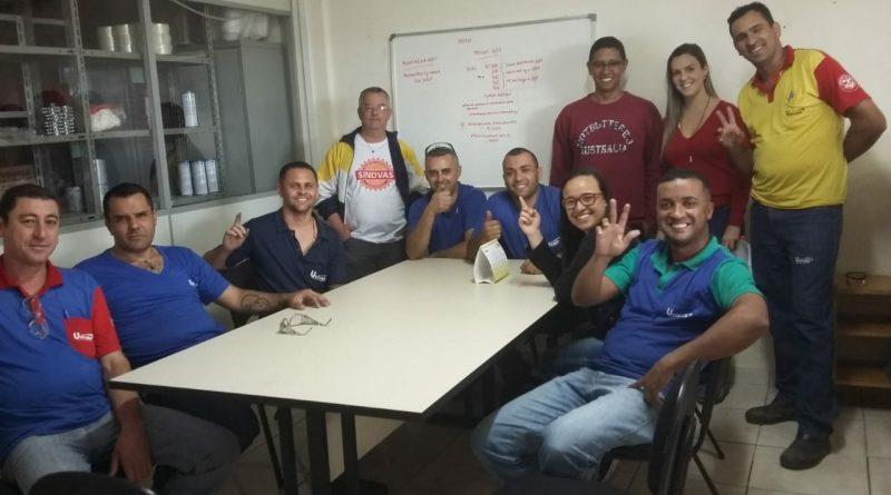 Acordo de PLR na empresa Usivale gera ganhos para os trabalhadores e trabalhadoras