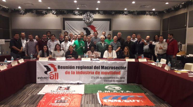 Maria Rosângela Lopes participa de reunião do Comitê Executivo da IndustriAll Global Union
