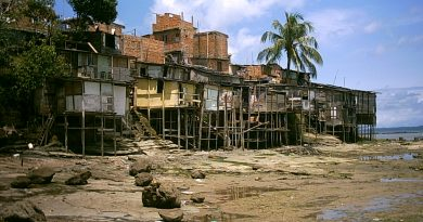 No Brasil, mais de 15 milhões vivem com até R$ 140 por mês