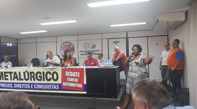 Brasil Metalúrgico: Diretoria do SINDVAS se reúne com lideranças para discutir ameaça de demissão, redução de direitos na GM e demais montadoras