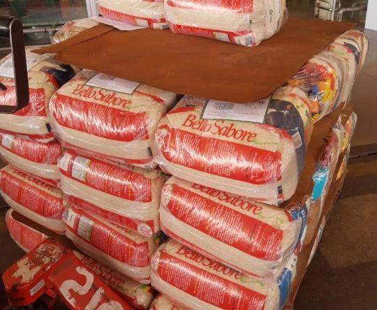 Sindicato doa cestas básica para famílias carentes